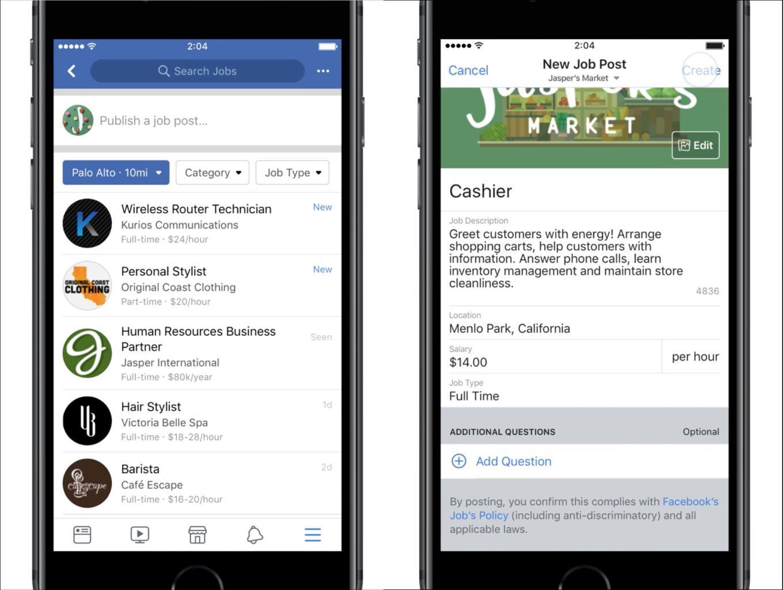 Facebook quiere ayudarte a conseguir trabajo | HR Connect